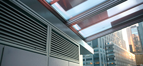 solar panels and ventilation
